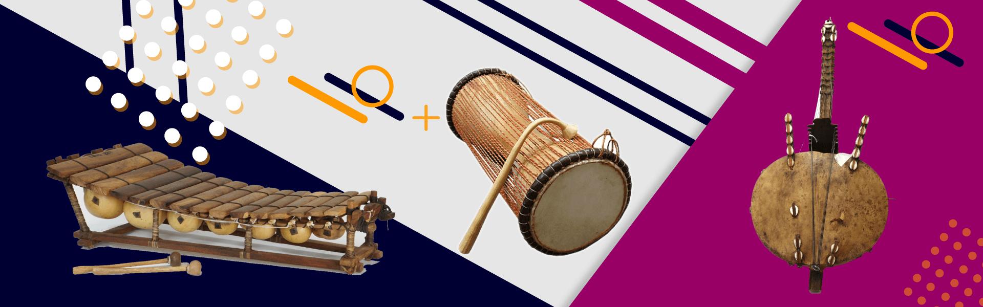 A la découverte de trois instruments de musique africaines