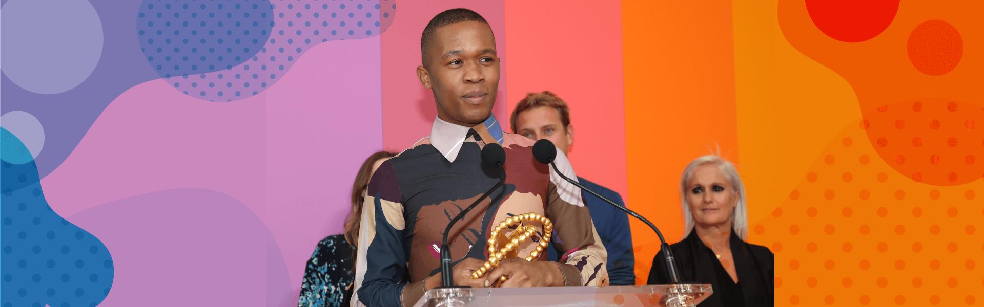 Thebe Magugu, le premier designer africain qui remporte le prix LVMH